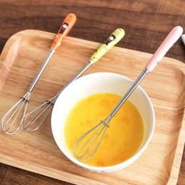 atacadores de ovos Desconto Hotsale Criativo Alça de Cerâmica Eggbeater Cozinha Ovo Agitador Massa Creme Mixer Restaurante Padaria Ferramentas de Cozimento frete grátis
