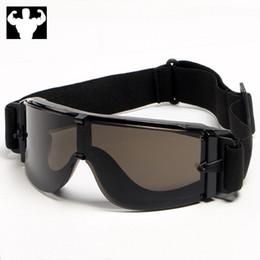 Capacete piloto de motocicleta on-line-Universal retro óculos de proteção da motocicleta goggles motocicleta scooter capacete pit impacto para o esqui ao ar livre esportes