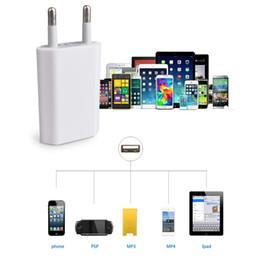 Carregador original do iphone 5s da maçã on-line-Carregador USB original para iPhone 4G 4S 5G 5C 5S 6G 6 Plus 6S 6S Plus iPad Carregador USB carregamento mais rápido plugue de energia europeu carregador de viagem