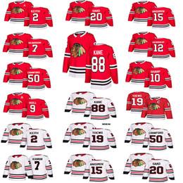 5b1771e5 China Hombres Mujeres Niños Chicago Blackhawks hockey 88 Patrick Kane 19  Jonathan Toews 2 Keith 20