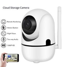 2019 lente de orificio 3.7mm cctv mini cámara Auto Tracking IP Wifi Cámara Mini Cloud Almacenamiento Cámara IP Detección de movimiento inalámbrica Audio bidireccional Cámara de seguridad para el hogar CCTV Red Wifi Cam