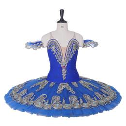 2019 traje de cascanueces AP081 envío gratis Últimas Ramonda blue swan lake nutcracker ballet tutu disfraces blue bird ballet tutu don Quijote tutu profesional rebajas traje de cascanueces