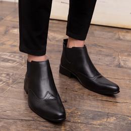 e4e8a746e8 traje negro zapatos marrones Rebajas Zapatos de vestir con punta en punta  para hombre Zapatos de