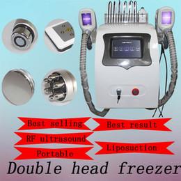 criolipólisis congelación congelación de grasa adelgazante Radio frecuencia importación cavitación equipo lipolaser 2 manijas de crio pueden trabajar juntos desde fabricantes