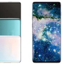 nuevos teléfonos android 4g Rebajas Smartphone Goophone nuevo 10+ 6.3 pulgadas MTK6580 quad core 1GB RAM 4GB ROM Pantalla completa Celular Mostrar 4G LTE Android Desbloqueado teléfono móvil