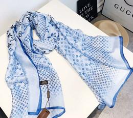 Marcas de moda de luxo 100% lenço de seda das mulheres marca floral xale cachecol tamanho 180x90 cm moda longo lenços de presente para as mulheres Frete grátis de