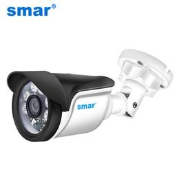 2019 heures de caméras tas caméras de surveillance Smar H.264 Bullet I Caméra 720P 960P 1080P Caméra de sécurité extérieur / intérieur 24 heures de surveillance vidéo ONVIF POE ...