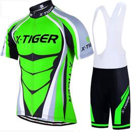 2019 Maglia da ciclismo Pro set Neon Bike MTB verde Abbigliamento da bici da montagna Estate Abbigliamento da ciclismo Bicicletta da ciclismo da maglia di pelli fornitori