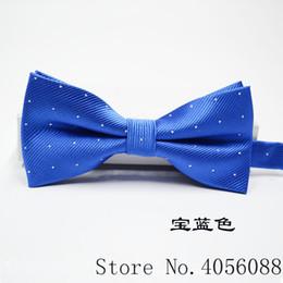 2019 pajarita azul real Royal blue Plaid Bowties Novio Hombres Sólido Moda Cravat Para Hombres Mariposa Gravata Matrimonio Masculino Matrimonio Pajaritas rebajas pajarita azul real