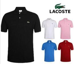 magliette calde polo Sconti Nuovo polo HOT 2019 di cotone taglie grandi e maniche corte t-shirt a maniche corte t-shirt in cotone taglia S-6XL 25 colore camisa. BB1