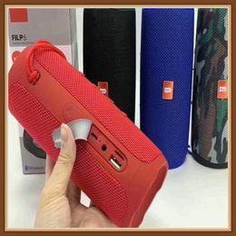 caja de mp4 mp3 Rebajas 2019 flip 5 tarjeta del TF de flip 5 Mini Audio Altavoces impermeables 1200mAh de la batería es compatible con múltiples subwoofer jugador