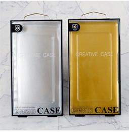 Caixa de empacotamento da bolha iphone on-line-100 pçs / lote pvc transparente embalagem da bolha pacote de varejo caixa universal para o iphone lg moto caixa de telefone celular case para samsung s10 além de