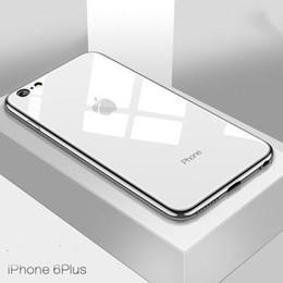 Iphone di commercio online-Caldo commercio estero Nuovo iPhone XS vetro temperato conchiglia di Apple 6S cassa del telefono cellulare 7plus guscio resistente agli urti