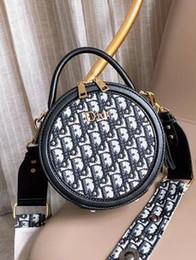 Nouveaux sacs à gâteaux ronds pour femmes européennes et américaines, épaule simple à la taille, taille classique de la poitrine: 19 * 19 cm ? partir de fabricateur