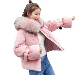 Manteau de cheveux lourd d'hiver en Ligne-Loose Heavy Hair Belle veste d'hiver matelassée en coton Femme Manteau Femme