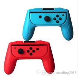 Nuevos mangos para Nintendo Switch Joy Con Controller Juego de 2 mangos Asas de mano de confort Kits Soporte Soporte Shell desde fabricantes