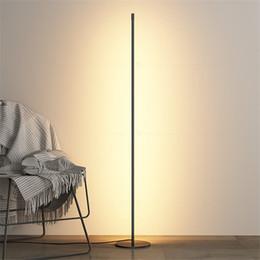 2020 decoração piso lâmpadas Nordic Moderno Noite Standing Floor Lamp projeto Quarto LED Leitura Sala Decor aparelho de iluminação FA001 decoração piso lâmpadas barato