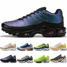 Wholesale Nike Air Max Plus Sistema Uomo Donna Sport Scarpe da corsa Triple Nero Bianco Blu Pod S3 Scarpe da ginnastica moda tennis Sneakers Taglia