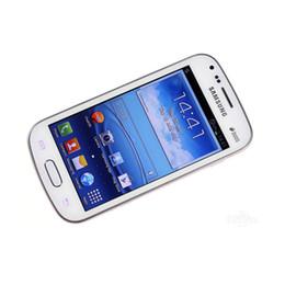 2019 samsung duos telefone Ursprünglich überholter Samsung-GALAXY-Trend-Duos II S7562I 3G WCDMA 4,0 Zoll Bildschirm Android4.0.4 WIFI GPS entriegelte Smar-Telefon-Siegelbox günstig samsung duos telefone
