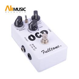 Klonlanmış Fulltone OCD Bozulması ve Üstün Overdrive Gitar Efekt Pedal Gerçek Bypass nereden alüminyum kutu muhafaza diy tedarikçiler