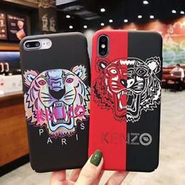 Яблочные узоры онлайн-2019 новый тигр Мода шаблон для iPhone топ классика для Apple iPhone 6/7 / 8,6p / 7p / 8p ix xs max, высококачественный чехол для мобильного телефона