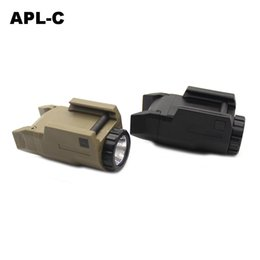 APL-C Tactical Weapon Light Mini Pistole Licht Konstante / Momentary / Strobe 200 Lumen LED Weißlicht für die Jagd von Fabrikanten