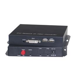 2019 áudio de fibra DVI para fibra conversor extensor 1080p dvi áudio vídeo sobre fibra óptica de transmissão até 20KM áudio de fibra barato