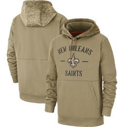 chaqueta rompevientos forro extraíble Rebajas 2020 Nueva Orleans Sudaderas Tan Saludo al servicio de la línea lateral Therma Rendimiento Pullover Jet sudaderas Tan Hombres Mujeres Niños YOUTH02