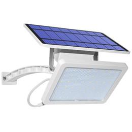 lampe 6v 5w Promotion 800lm lampe solaire 48 LED lumière solaire pour le jardin extérieur mur de jardin Éclairage de sécurité LED avec Adustable Angle d'éclairage
