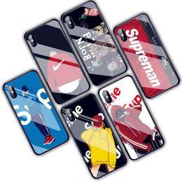 модели мобильных телефонов sony ericsson Скидка Мода шаблон для iPhone 7 8 плюс хз Макс Стеклянные раковины мобильного телефона стекло телефон чехол Бесплатная доставка DHL