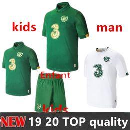 camicie da calcio a squadre Sconti 19 20 Ireland Jersey di calcio Keane McClean Brady Coleman Clark Hendrick lungo irlandese nazionale 2019 2020 di calcio Uomi bambini camicia 3 Transact