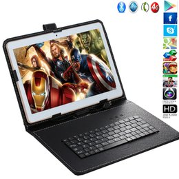 2019 android tablet pc weiß 2017 iBOPAIDA 9,7 zoll ANDROID 4,4 HANDY TABLETT PC DUAL SIM OKTA KERN GPS IPS 16G / 32G Weiß Schwarz Glod Fress Tastatur geschenk rabatt android tablet pc weiß