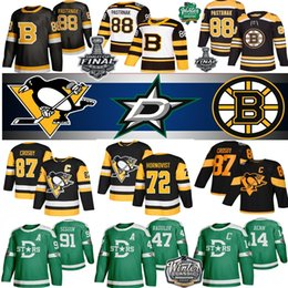 joe nathan jersey Rebajas Pittsburgh Penguins Jersey Boston Bruins 37 Patrice Tuukka Rask David Krejci Brad Crosby 87 71 Malkin Dallas Stars 14 Benn 91 Seguin hockey