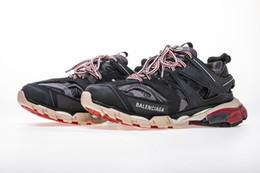 Мужские женские TRACK.3 НОВЫЕ дизайнерские туфли Speed Sock Кроссовки из стрейч-сетки с высоким топом черные белые красные блестящие кроссовки для бега Flat US от Поставщики блеск кроссовки для мужчин