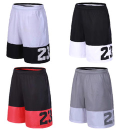 Argentina 2019 SY Hombres Pantalones cortos de baloncesto con cremallera Bolsillos Pantalones cortos de baloncesto de entrenamiento transpirable de secado rápido Hombres Fitness Ejecución de pantalones cortos deportivos Suministro