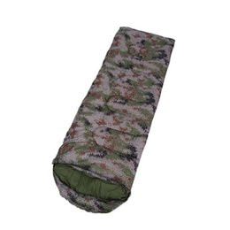 2019 konvexes kissen Erwachsener kampierender Schlafsack 15 ~ 5 Grad Umschlag-Art-Tarnung-wasserdichte warme Reise-mit Kapuze Schlafsack-kampierende Ausrüstung