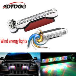 led-antriebsstromversorgung Rabatt Wind Power 8 LED-Lauflicht Tagesautoscheinwerfer für Nebel-Lampen-DRL-treibender Licht-Kopf-Lampen keine Notwendigkeit Externe Stromversorgung