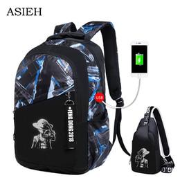 2019 mochilas de graffiti Sacos de escola à prova d 'água para adolescentes high school para mochila estudante ocasional bolsa de viagem laptop mochila dragão graffiti desconto mochilas de graffiti