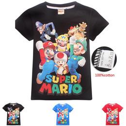 Deutschland DGFSTM Hochwertige Mode-Designer kurze T-Shirt im europäischen Stil Herren Rundhalsausschnitt Super Mario T-Shirt Baumwolle Kurzarm-Kleidung B11 cheap preppy style clothing men Versorgung