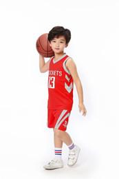 Venda por atacado American Basketball 13 # (endurecer) Super estrela de basquetebol personalizado Basquete Vestuário Outdoor Sports Roupa Para Big Crianças de