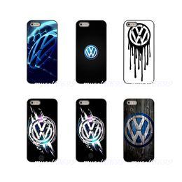 Iphone vw on-line-Volkswagen vw r logotipo hard case capa case para samsung galaxy note 3 4 5 8 S2 S3 S4 S5 MINI S6 S7 borda S8 S9 Mais