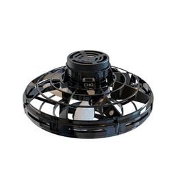 blinkende windmühlenspielzeug Rabatt Die beliebtesten Weihnachtsgeschenk handbetriebene Drones LED-Licht Mini UFO FlyNova Fliegen Spinnern Spielzeug für Kinder