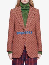 hohe mode frauen blazer Rabatt Frauen Mädchen Leinenjacke Blazer fallendem Revers Einreiher lange Ärmel übergroße Mäntel Jahrgang Oberbekleidung Top-High-End-Mode Luxus-Anzug