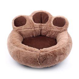 peluche pokemon Sconti Nuova moda Cute Dog Bed Warming Dog House Gatti Cucciolo Inverno Soft Nest Short Peluche Divano Cuscino Casa Prodotti per animali