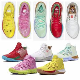 2019 sg grün 2019 Sponge Bob x Kyrie 5 Patrick Lotus Pink Squidward Herren Basketballschuhe Irving 5s Designer Sportschuhe