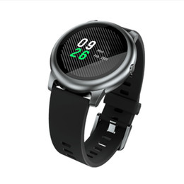 Android-uhren wasserdicht online-Original Haylou Solar-LS05 Smart Watch Sport Metall runde Gehäuse Herzfrequenz Schlaf-Monitor IP68 Wasserdicht 30 Tage Batterie iOS Android 2021