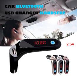 2019 accesorios cargador para coche Top Brand Car-Styling LCD Car Kit Encendedor de cigarrillos MP3 Transmisor FM Cargador USB Manos libres Ventas calientes Accesorios para automóviles rebajas accesorios cargador para coche