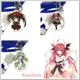 Фигура куруми онлайн-Giancomics Date A Live Keychain Tokisaki Kurumi Yoshino Hermit Kawaii Figure Double Sided Pendants Exquisite Accessories Gifts