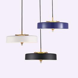 Moderne lampade a sospensione a LED Nordic minimalista personalità creativa ristorante bar ingresso sala arte singola testa lampade da comodino - I133 da