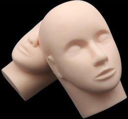 Maquette de mannequin de formation pour femmes - Maquillage de mannequin pour la pratique de l'extension des cils yeux fermé ? partir de fabricateur